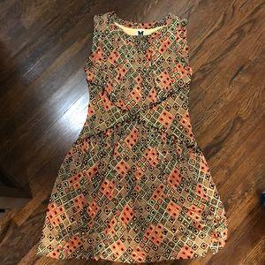 M Missoni silk tribal print dress